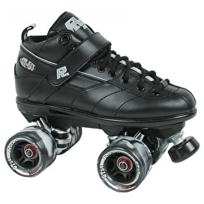 Sure-Grip Rock GT-50 Quad Derby Skates - Black
